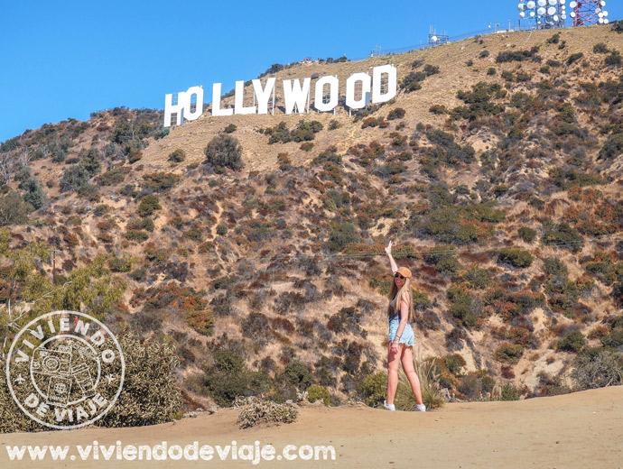 Mirador del cartel de Hollywood