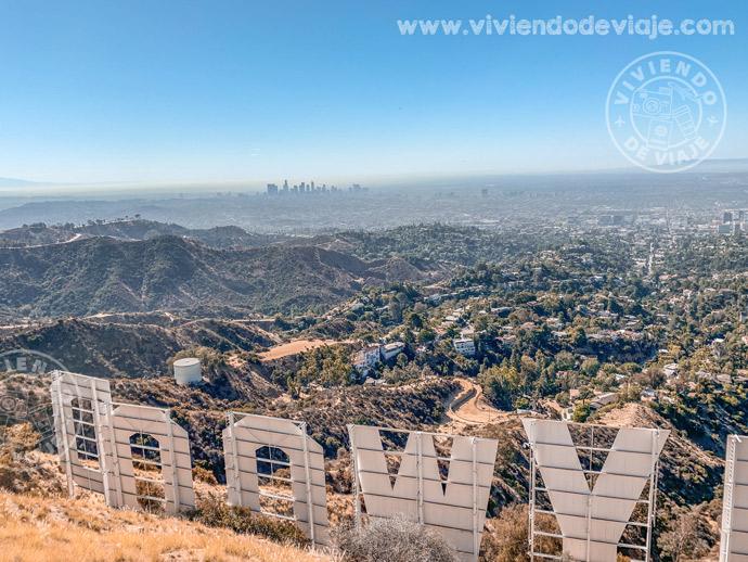 Detrás del cartel de Hollywood