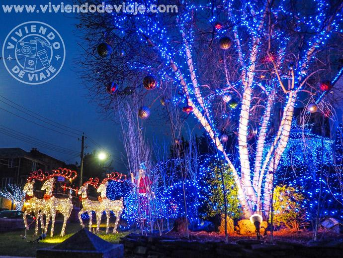 Luces de Navidad en Dyker Heights
