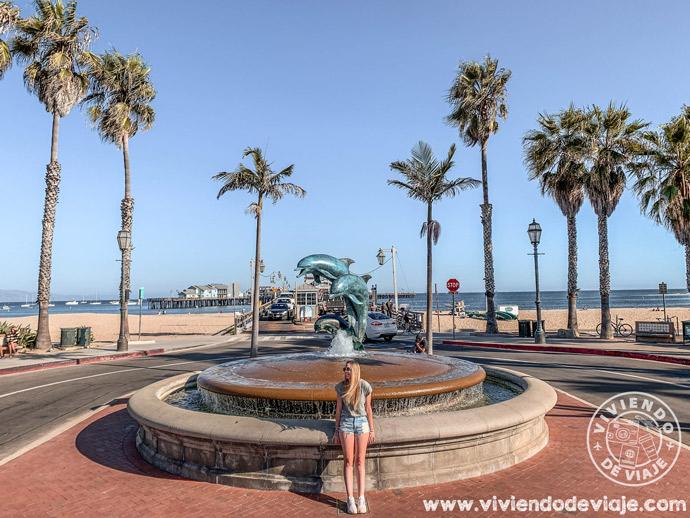 Ruta de Los Angeles a San Francisco - Muelle de Santa Bárbara