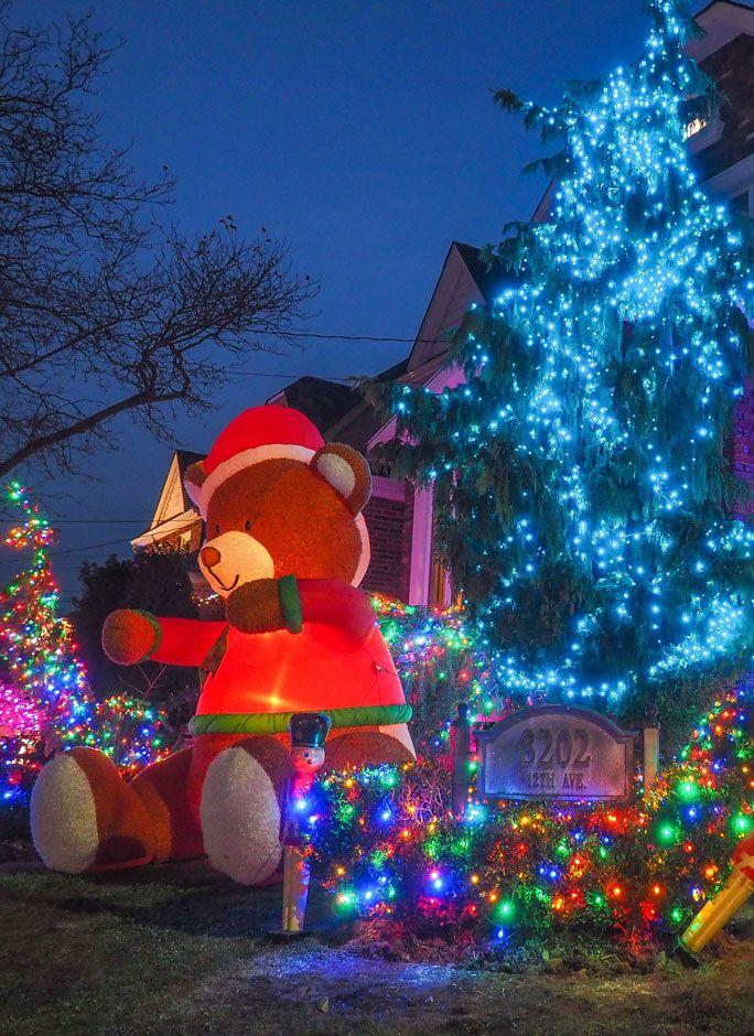 Las luces de Navidad de Dyker Heights