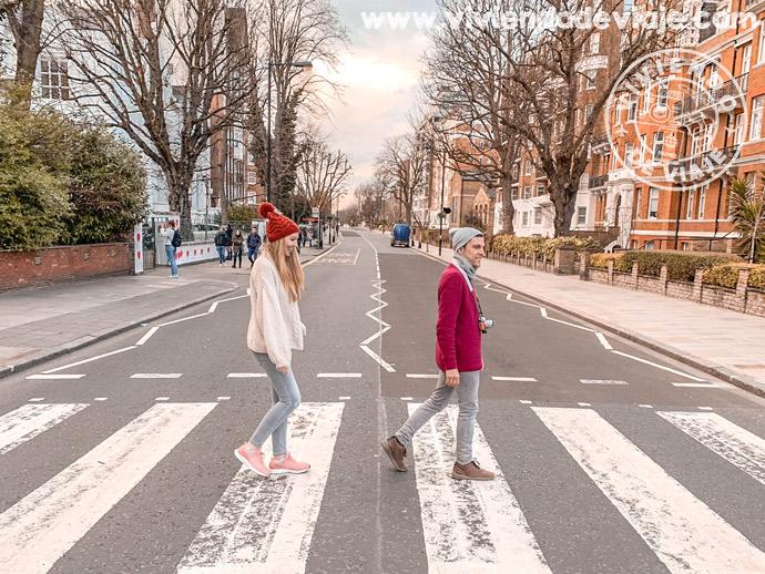 Paso de cebra de Abbey Road, Londres