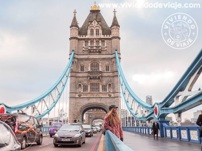 Tower Bridge, imprescindible de Londres