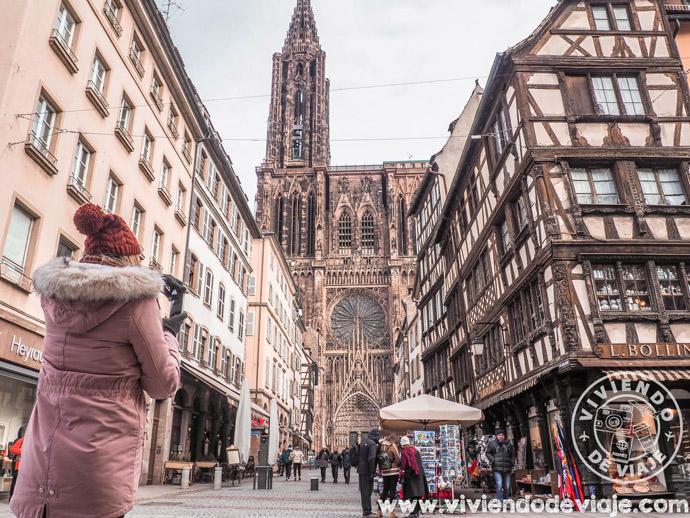 Que ver en Estrasburgo, catedral de Notre Dame