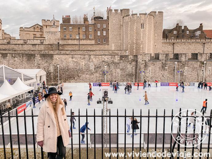 Pista de patinaje de la Torre de Londres