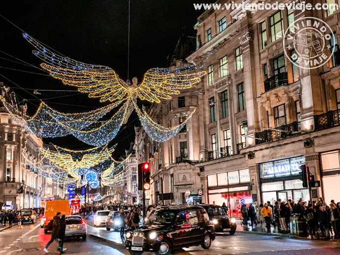 Iluminaciones de Navidad en Londres