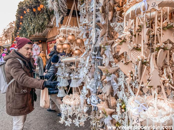 Mercados de Viena en Navidad