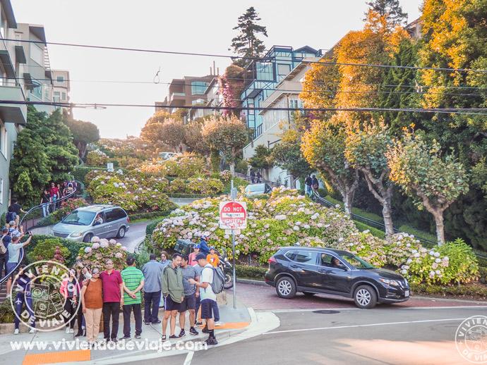 Lombard Street en San Francisco