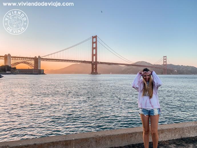 Qué ver en San Francisco en 3 días, Mirador del Golden Gate