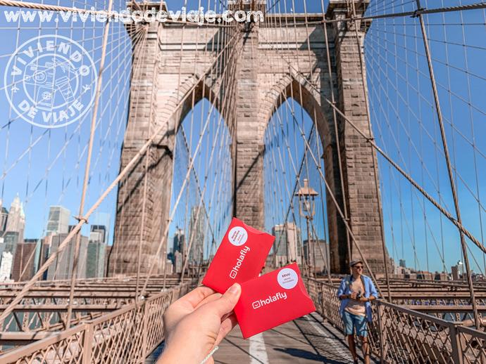 Tarjeta SIM para 5 días en Nueva York