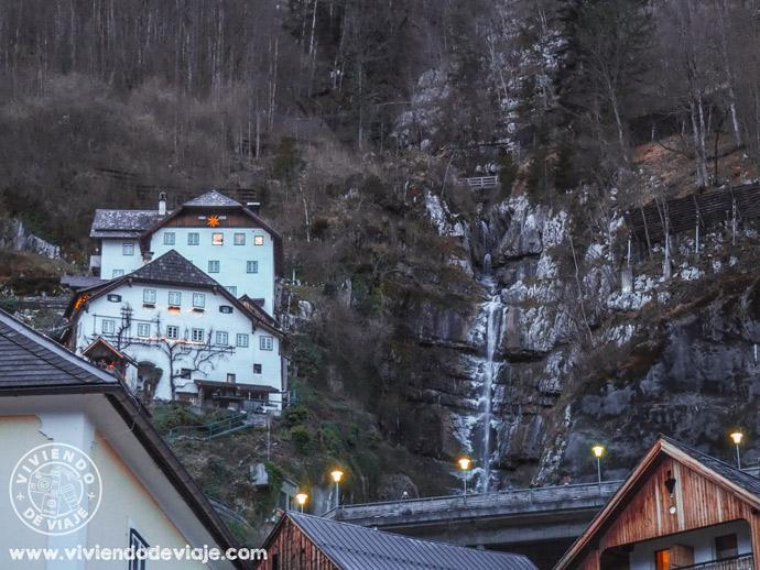 Cascada de Hallstatt