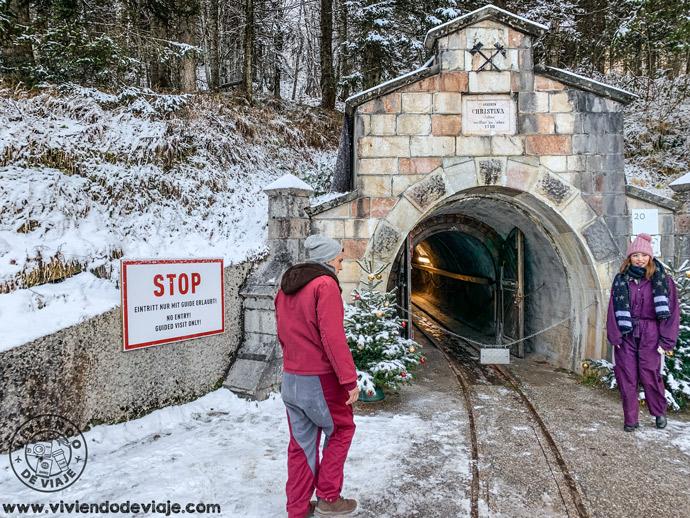 Entrada a la Mina de Sal de Hallstatt