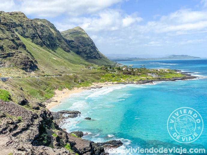 Makapu'u Lookout en Oahu