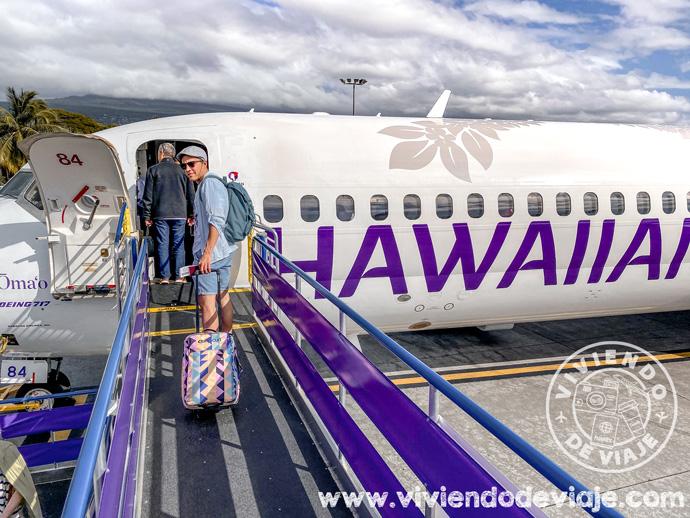 Presupuesto en vuelos para viajar a Hawaii