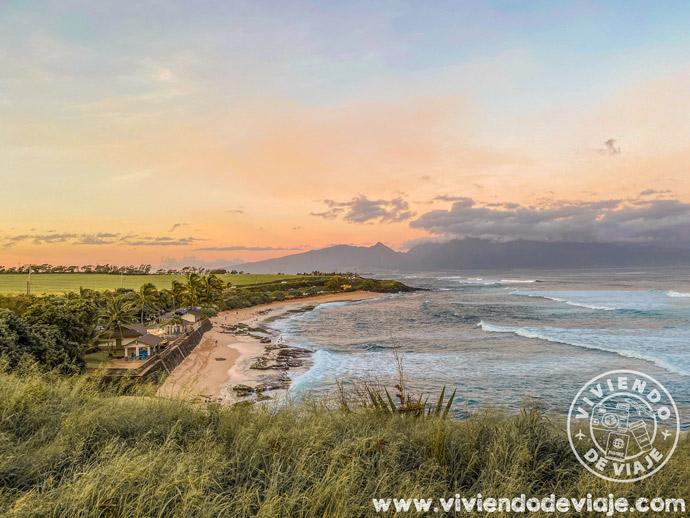Playa de Ho'okipa beach en Maui
