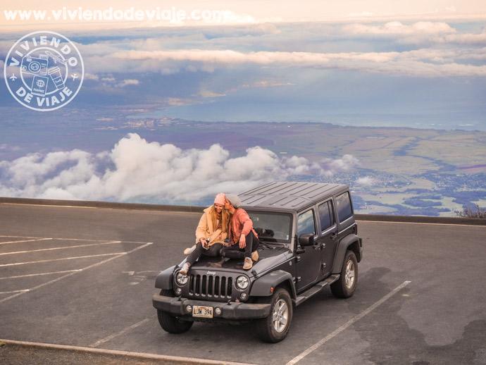 Coche de alquiler en Maui | Volcán Haleakala