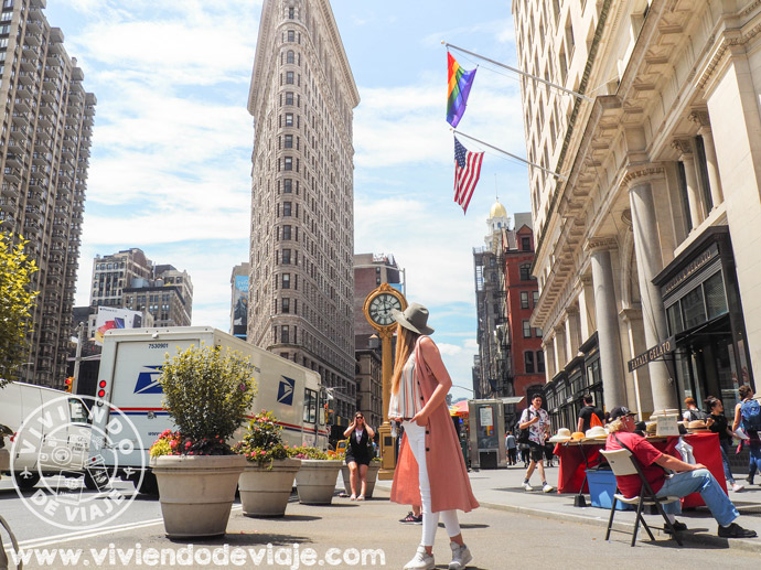Edificio Flatiron de Nueva York