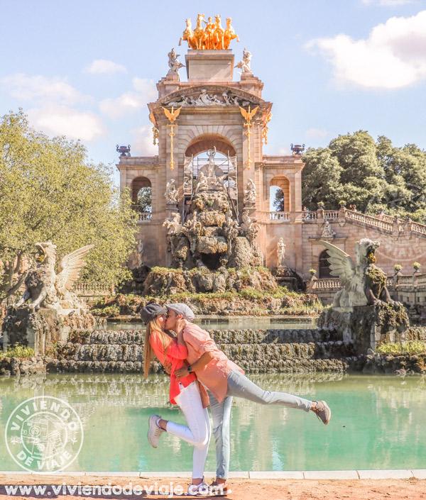 Lugares qué ver en Barcelona | La Cascada Monumental en Parque de la Ciudadela