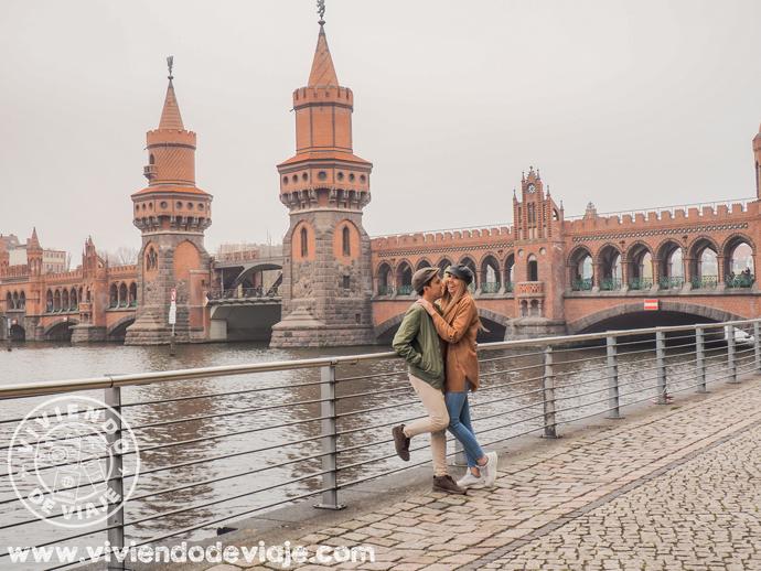Puente de Oberbaum, Berlín