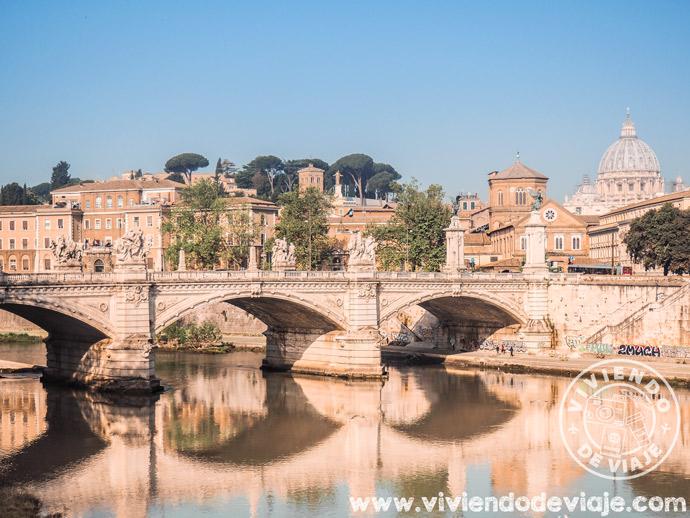 Mejores zonas dónde alojarse en Roma