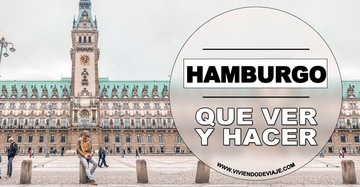 Que ver en Hamburgo, lugares imprescindibles