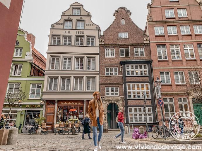 Calle Deichstrasse, un lugar imprescindible que ver en Hamburgo