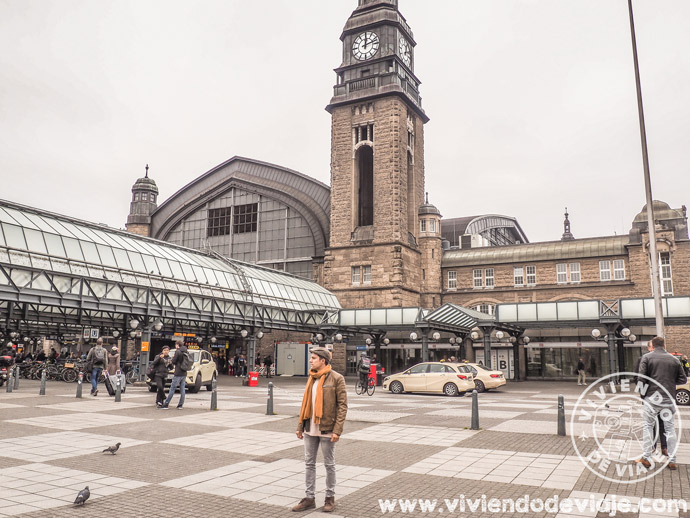 Estación Central de Hamburgo
