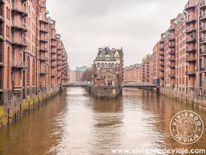 Barrio de Speicherstadt en Hamburgo