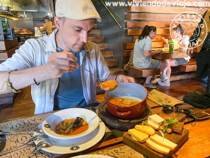 Fabada asturiana en Oviedo