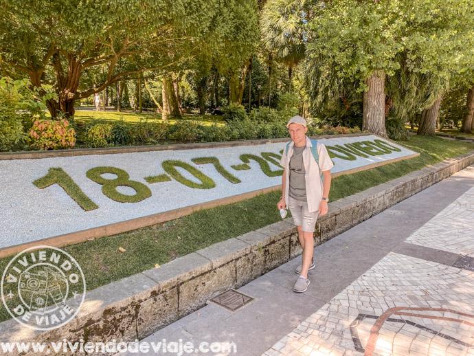Calendario floral del Campo San Francisco, Oviedo