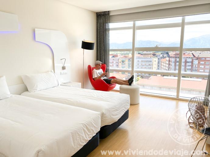 Alojarse en Oviedo | Nuestra habitación en el Eurostars Palacio de Cristal