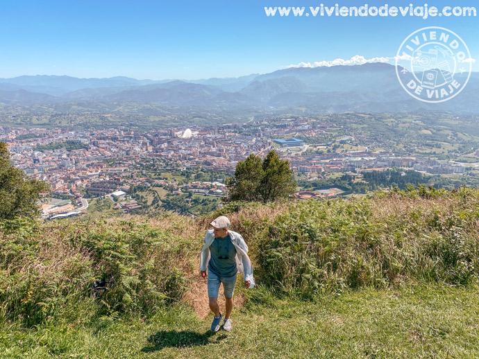 Mirador del monte Naranco | Las mejores vistas que ver en Oviedo desde las alturas