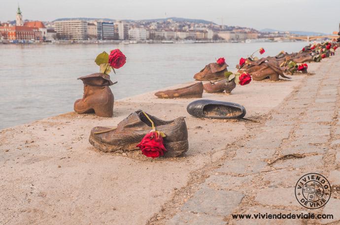 Los Zapatos del Danubio, Budapest