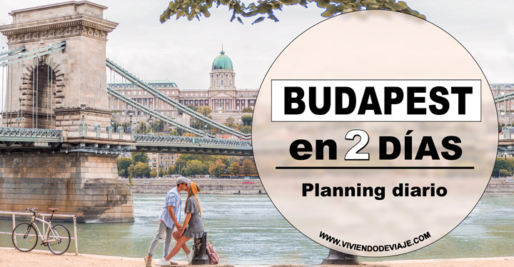 Budapest en dos días, ruta diaria