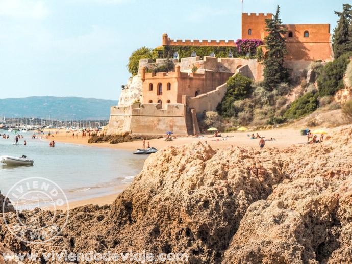 Praia Grande, en el Algarve