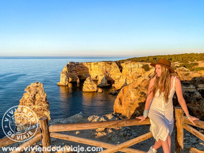 Praia da Marinha, una de las mejores playas del Algarve
