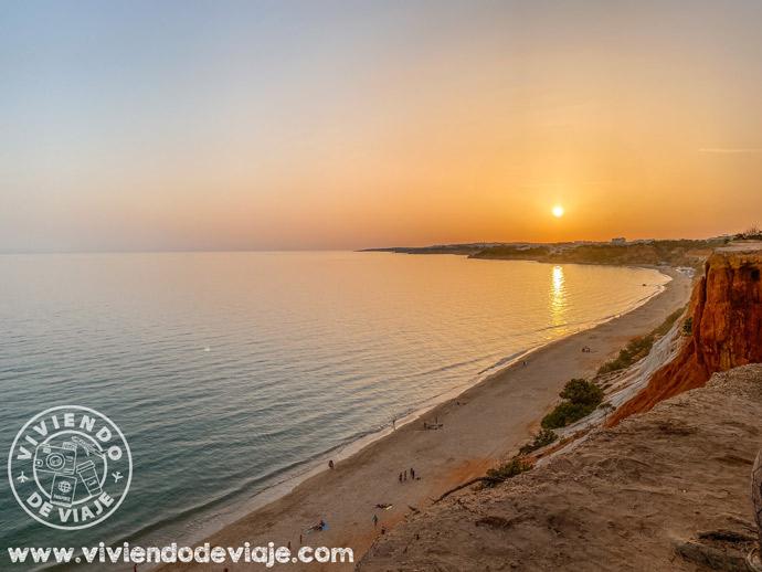 Praia da Falésia, una de las mejores playas del Algarve