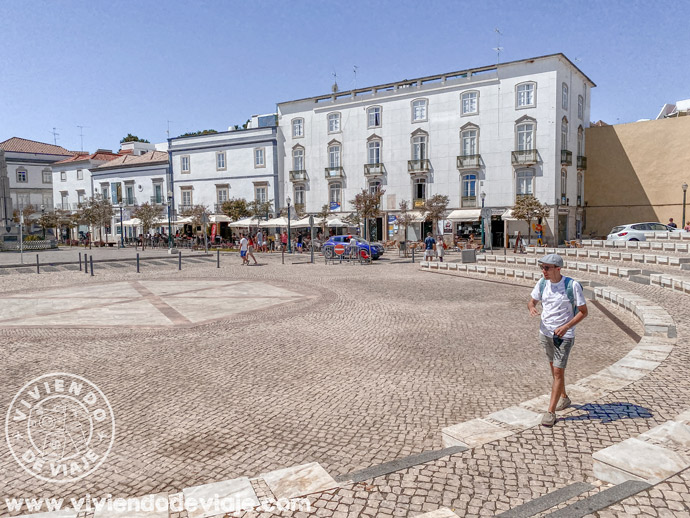 Plaza de la República de Tavira