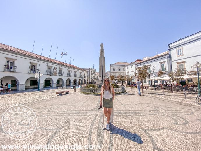 Plaza de la República | Lugares que ver en Tavira