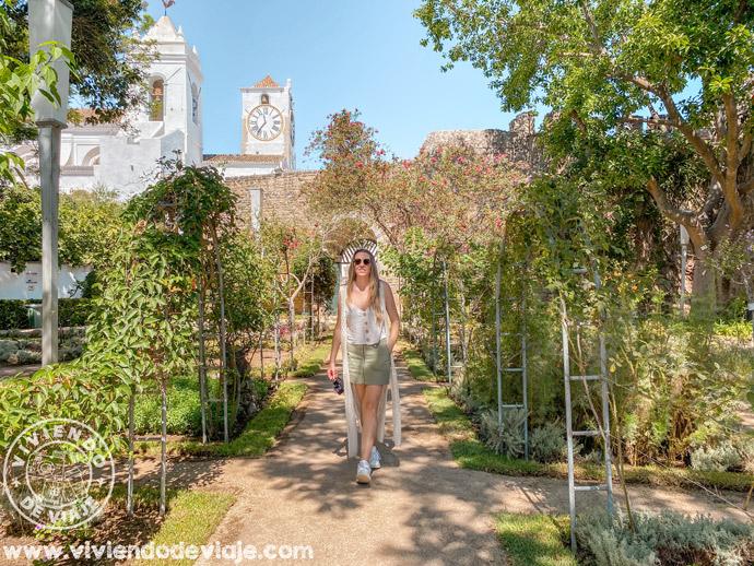 Jardín del Castillo de Tavira