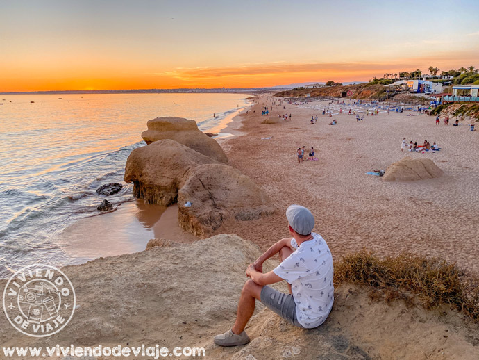 Praia da Galé, una playa preciosa del Algarve