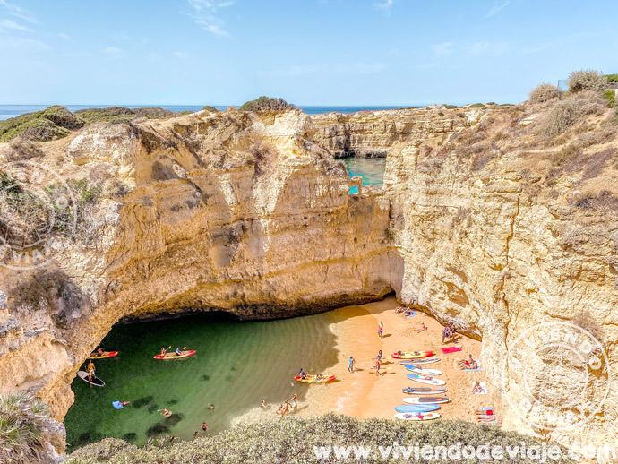 Cala Secreta en el Algarve