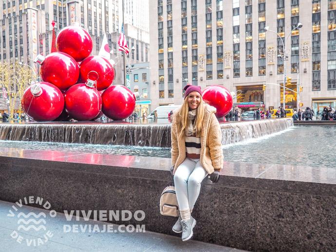 Decoraciones navideñas en Nueva York