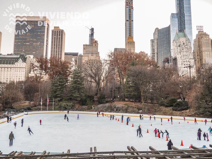 Pista de hielo de Central Park