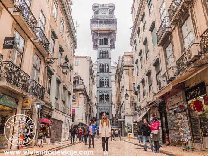 Free tours en Lisboa | Elevador de Santa Justa