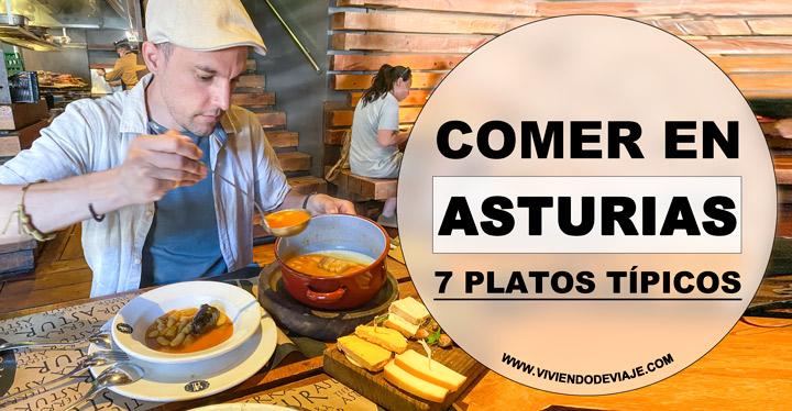 Comer en Asturias, platos típicos