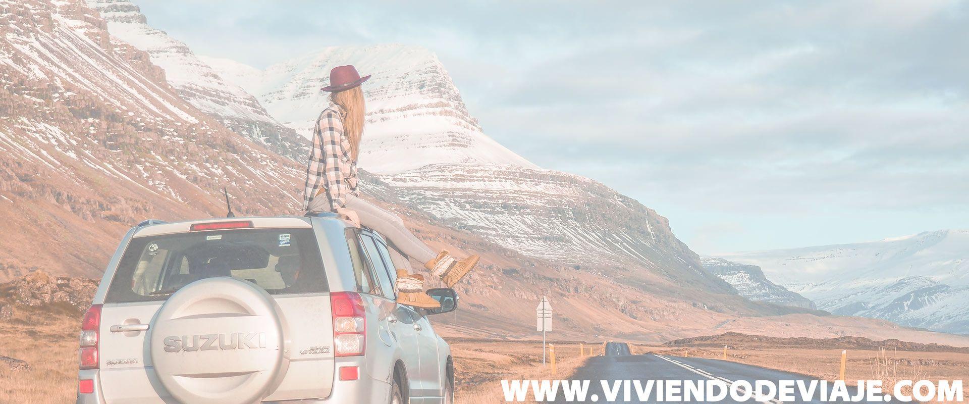 Alquilar coche en Islandia