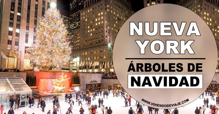 Árboles de Navidad en Nueva York
