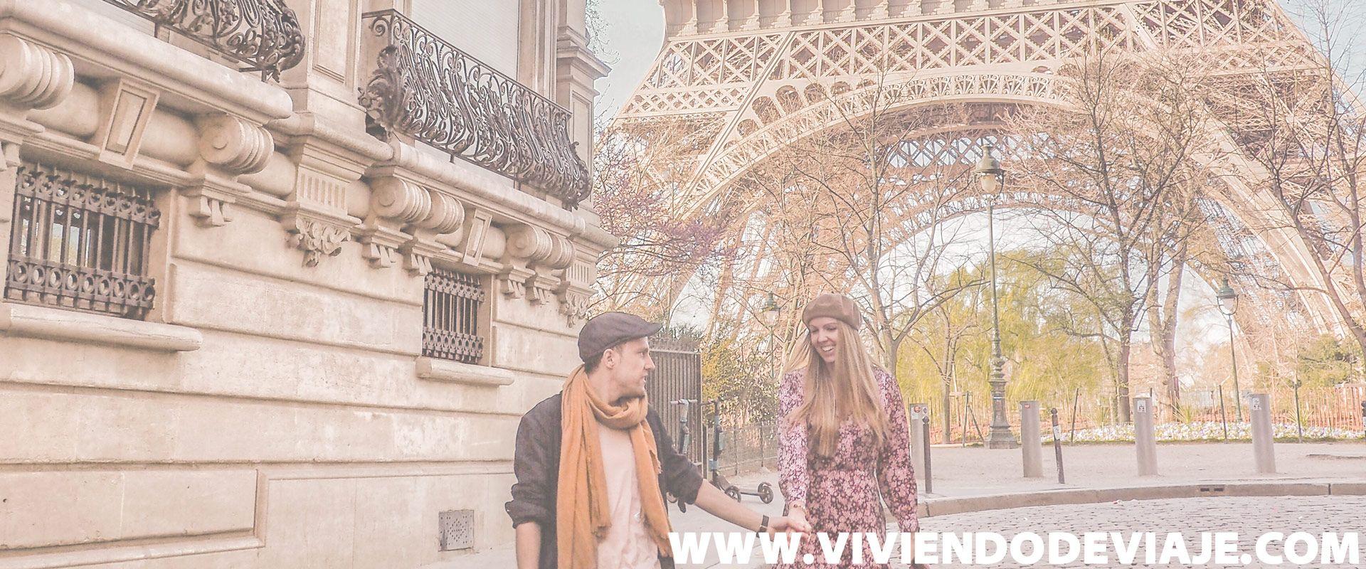 París en 3 días, ruta diaria