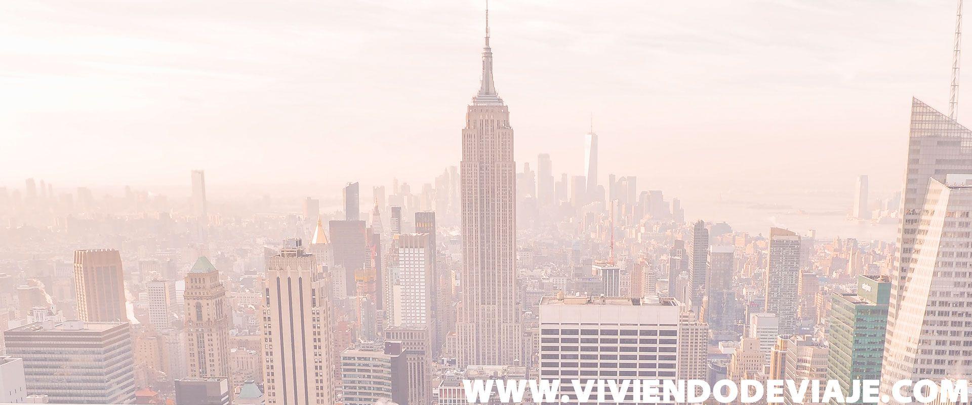 Tarjetas turísticas en Nueva York - Vistas del Empire State Building